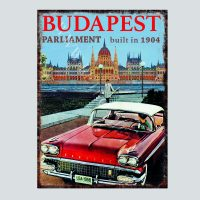 US Oldtimer at Parliament Budapest
